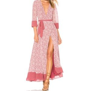 Tularosa • Jolene Wrap Maxi Dress